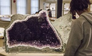 large open amethyst gemstone